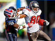 SEPTEMBER 20, 2009, ORCHARD PARK, NY: Wide Receiver Michael Clayton #80 of the Tampa Bay Buccaneers against the Buffalo Bills in Orchard Park, New York on September 20, 2009. The Buccaneers lost 33-20 . Photo by Mike Carlson/Tampa Bay Buccaneers