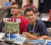 Chavez High School students enjoy the Academic Signing Day activities at the Region 4 Education Center, May 23, 2014.