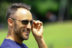 July 22, 2018 - Colombo, Sri Lanka - South African cricket captain Faf Du Plessis during the 4th day's play in the 2nd test cricket match between Sri Lanka and South Africa at SSC International Cricket ground, Colombo, Sri Lanka on Monday  23 July 2018  (Credit Image: © Tharaka Basnayaka/NurPhoto via ZUMA Press)