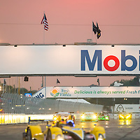 Sebring, FL - Mar 19, 2015:  The Tudor United SportsCar Championship teams take to the track for a practice session for the 12 Hours of Sebring at Sebring Raceway in Sebring, FL.