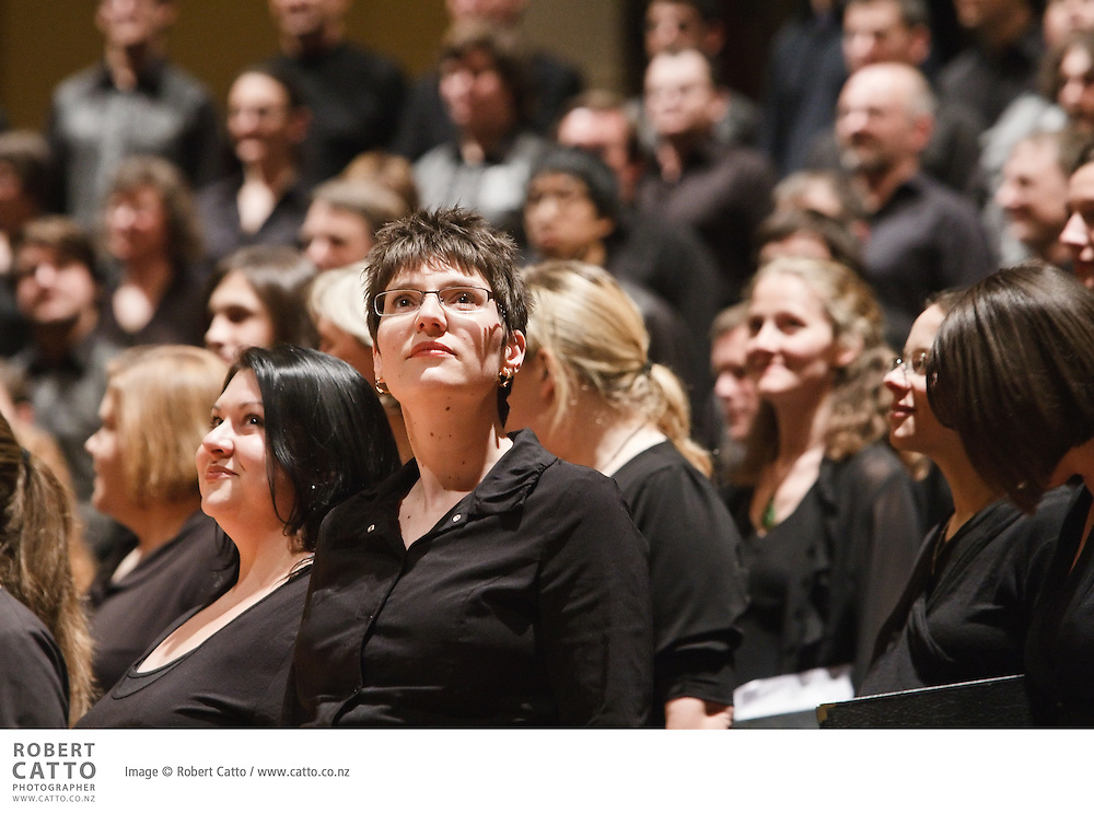 On Sunday July 12, scores of singers descended on Wellington for a concert celebrating the thirtieth anniversary of one of New Zealand's great cultural institutions, the New Zealand Youth Choir. The choir, which counts some of New Zealand's greatest singers among its alumni, invited past and present members to sing together in a reunion concert in the Wellington Town Hall.
