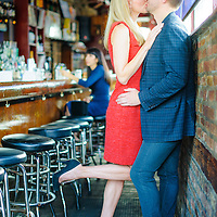 Kate & Gabe pictured at the Matchbox Bar on Milwaukee Avenue in Chicago on Saturday, October 15.