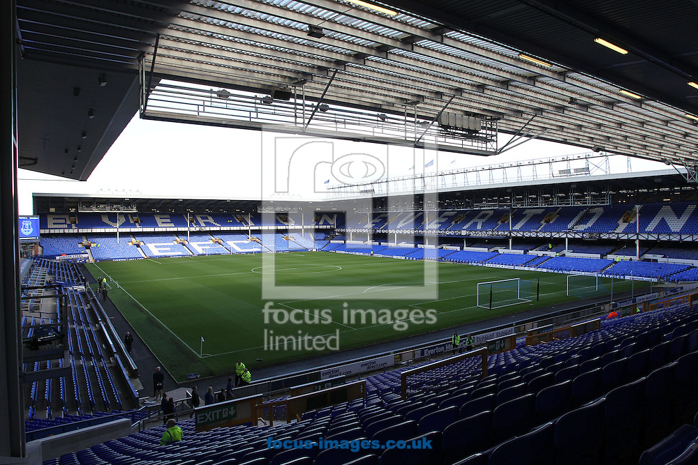 General view of Goodison Park, home of Everton, Liverpool.<br /> Picture by Michael Sedgwick/Focus Images Ltd +44 7900 363072<br /> 01/11/2014