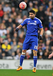 DIEGO COSTA  CHELSEA,  MK Dons v Chelsea,  FA Cup 4th Round Stadium MK Sunday 31st January 2016