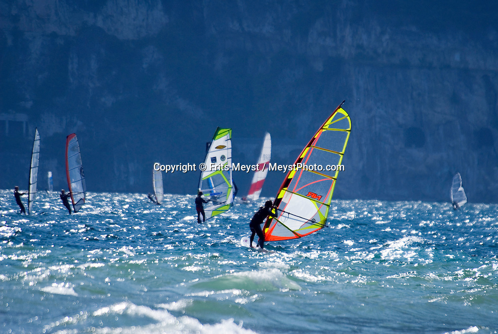 Torbole, Lago di Garda, Italy, May 2009. Camping Maroadi is home to many mountainbikers and windsurfers. The northern part of the lake area is loved by sportive people, while the south is known for its relxed atmosphere. Photo by Frits Meyst/Adventure4ever.com