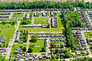 Nederland, Flevoland, Nagele, 07-05-2018; Dorp Nagele in de Noordoostpolder, bijna geheel ontworpen door moderne architecten van architecten van De Acht en Opbouw. <br />