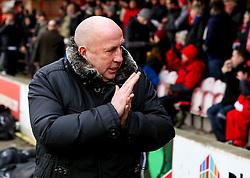 Accrington Stanley Manager John Coleman  - Mandatory byline: Matt McNulty/JMP - 30/01/2016 - FOOTBALL - Crown Ground - Accrington, England - Accrington Stanley v Bristol Rovers - Sky Bet League Two