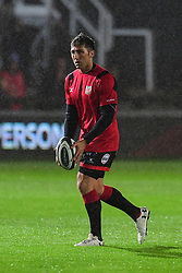 Dragons' Gavin Henson during the pre match warm up - Mandatory by-line: Craig Thomas/JMP - 30/09/2017 - RUGBY - Rodney Parade - Newport, Gwent, Wales - Newport Gwent Dragons v Southern Kings - Guinness Pro 14
