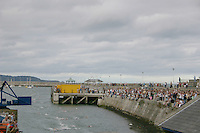 Dun Laoghaire Harbour swim competition, Dublin, Ireland<br />
