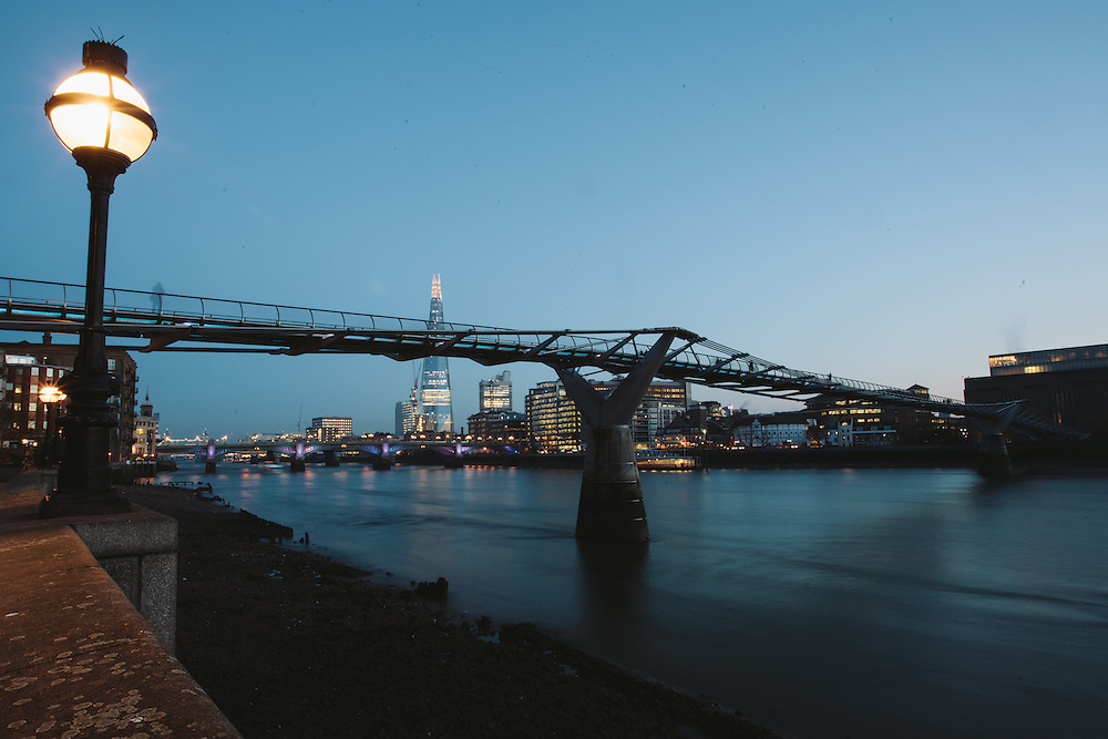 A view of the Shard, London. 11.12.2012