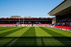 General View of Ashton Gate Stadium - Mandatory byline: Rogan Thomson/JMP - 07966 386802 - 06/09/2015 - RUGBY UNION - Ashton Gate Stadium - Bristol, England - Bristol Rugby v Bedford Blues - Greene King IPA Championship.