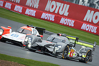 Simon Trummer (CHE) / Oliver Webb (GBR) James Rossiter (GBR)  #4 Bykolles Racing Team CLM P1/01 - AER, WEC 6 Hours of Silverstone 2016 at Silverstone, Towcester, Northamptonshire, United Kingdom. April 15 2016. World Copyright Peter Taylor.