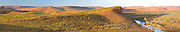 Panorama looking over El Questro Station, The Kimberleys, Australia.