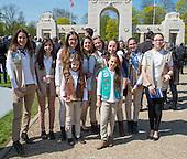 2016-04-20 Girl Scout Lafayette Escadrille Memorial