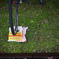 Mole traps have many uses? ©Brian Nelson