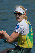 Lucerne, SWITZERLAND. AUS W1X, Kim CROW, Gold medalist 2015 FISA World Cup III, Lake Rotsee,  11:43:48  Sunday  12/07/2015   [Mandatory Credit. Peter SPURRIER/Intersport Images. .   Empacher.