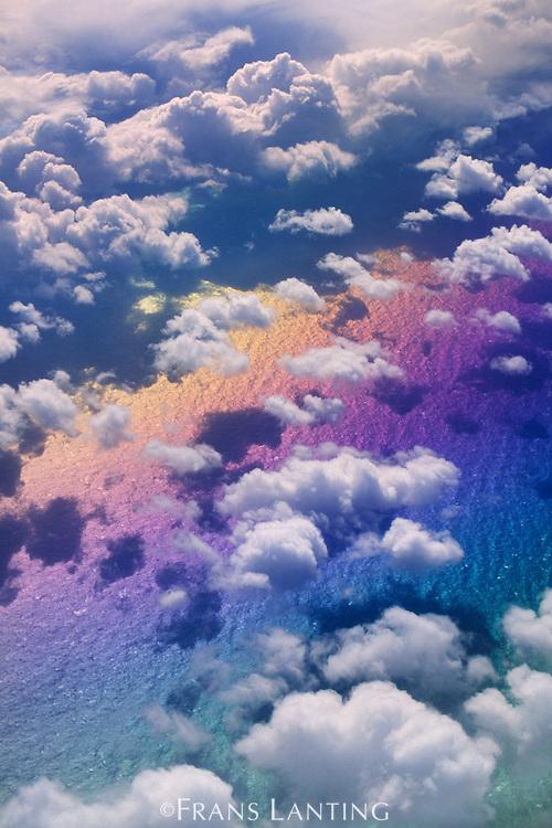 Cloudscape (aerial), North Atlantic Ocean