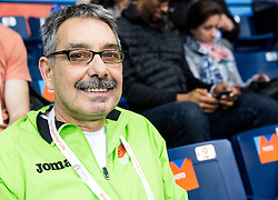 Khalid Nassif of Slovenia during day one of the 2017 European Athletics Indoor Championships at the Kombank Arena on March 3, 2017 in Belgrade, Serbia. Photo by Vid Ponikvar / Sportida
