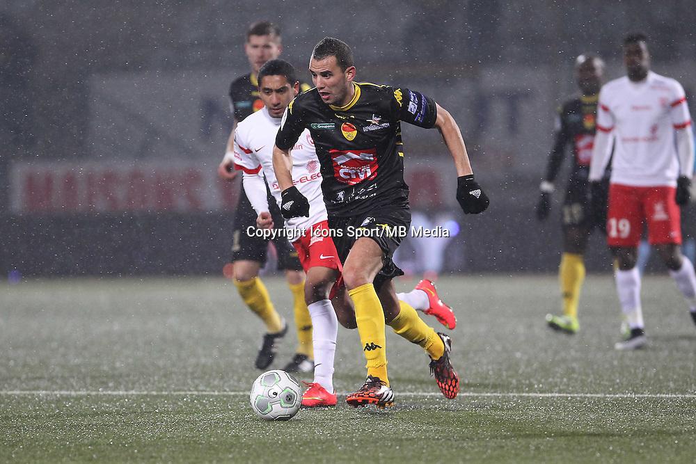 Samir BENMEZIANE - 19.01.2015 - Nancy / Orleans - 20e journee Ligue 2<br /> Photo : Fred Marvaux / Icon Sport