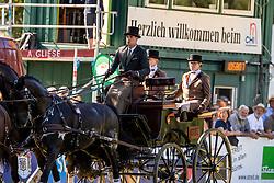 DodderDegrieck Dries, BEL, D'Aguistinie, Dirk, Garrelt, Grenadier, Zilverone<br /> Prizegiving FEI rider of the year<br /> Driving European Championship <br /> Donaueschingen 2019<br /> © Hippo Foto - Dirk Caremans<br /> Degrieck Dries, BEL, D'Aguistinie, Dirk, Garrelt, Grenadier, Zilverone
