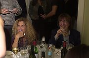 Bill Wyman and Suzanne. Nicky Haslam celebrated his birthday by throwing a party for Jerry Hall. dorchester Club. 1 October 2000. © Copyright Photograph by Dafydd Jones 66 Stockwell Park Rd. London SW9 0DA Tel 020 7733 0108 www.dafjones.com