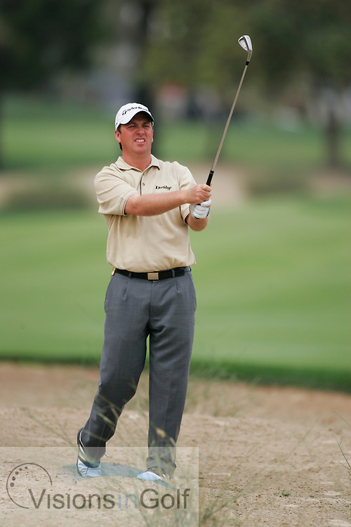 Ian Garbutt at the Dubai Desert Classic 2005, Emirates GC, UAE.  Photo Mark Newcombe