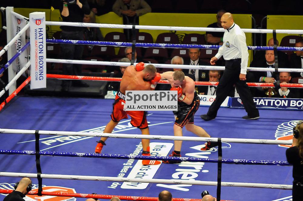 Sergey Rabchenko v Cedric Vitu  European Light-middleweight Title