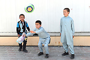 Orphans play during a visit to an Australian Embassy residence in Kabul, Afghanistan. With assistance from the Australian Embassy, Mahboba's Promise, an Australian charity dedicated to the women and children, supports four orphanages called Hope Houses across Afghanistan.