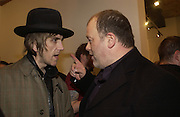 Pete Woolf and Danny Clifford, Babyshambles Exhibition , Photographs by Danny Clifford <br />