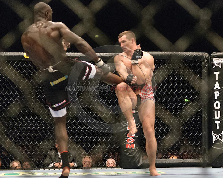 "LONDON, ENGLAND, SEPTEMBER 8, 2007: UFC 75 ""Champion vs. Champion"" inside the O2 Arena in London, England on September 8, 2007."