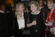 Laura Sandys, Barbara Taylor Bradford and Celia Sandys, Party celebrating publication of: The Ravenscar Dynasty by Barbara Taylor Bradford,  Moussaieff, 172 Bond Street, London,  -DO NOT ARCHIVE-© Copyright Photograph by Dafydd Jones 66 Stockwell Park Rd. London SW9 0DA Tel 020 7733 0108 www.dafjones.com