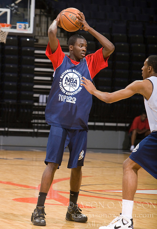 2G Durand Scott (New York, NY / Rice).  The NBA Player's Association held their annual Top 100 basketball camp at the John Paul Jones Arena on the Grounds of the University of Virginia in Charlottesville, VA on June 19, 2008
