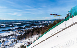 18.03.2018, Vikersundbakken, Vikersund, NOR, FIS Weltcup Ski Sprung, Raw Air, Vikersund, Finale, im Bild Andreas Wellinger (GER) // Andreas Wellinger of Germany during the 4th Stage of the Raw Air Series of FIS Ski Jumping World Cup at the Vikersundbakken in Vikersund, Norway on 2018/03/18. EXPA Pictures © 2018, PhotoCredit: EXPA/ JFK