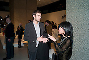 OSCAR HUMPHREYS; CURATOR; LYDIA YEE;, Ron Arad; Restless. Cocktail reception hosted by Kate Bush of the Barbican and Tony Chambers of Wallpaper magazine. Barbican art Gallery. London. 17 September 2010