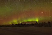 Aurora Borealis in Northern Finland