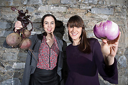 Repro Free: released 18/03/2014 Pictured at the launch of the Foodcloud Feast is founders Iseult Ward and Aoibheann O'Brien. The new and exciting event aims to inform and inspire people about the challenges and opportunities surrounding food waste in Ireland. The Foodcloud Feast will take place at 6.30pm at Smock Alley in Temple Bar, Dublin on 2nd April 2014 and there are a limited number of tickets available to the public through www.tickets.ie. Picture Andres Poveda