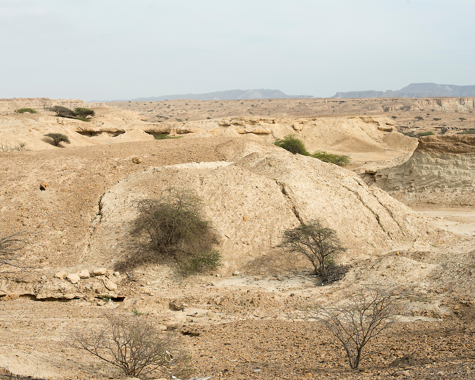 Landscape in Qeshm Island