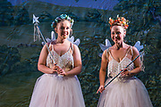 Dress rehearsal of Iolanthe performed by the National Gilbert & Sullivan Opera Company during the <br /> 25th International Gilbert & Sullivan Festival at the Royal Hall Harrogate, North Yorkshire, England on Saturday 18 August 2018 Photo: Jane Stokes<br /> <br /> Director: Cav Vivian Coates<br /> Conductor: James Hendry<br /> Choreographer: Mary MacDonagh<br /> <br /> THE LORD CHANCELLOR/ Richard Gauntlett<br /> EARL OF MOUNTARARAT/Eddie Wade<br /> EARL TOLLOLLER/ Nick Sales<br /> PRIVATE WILLIS/ Matthew Siveter<br /> STREPHON/ Bradley Travis<br /> QUEEN OF THE FAIRIES/Gaynor Keeble<br /> IOLANTHE/Jennifer Parker<br /> CELIA/Stephanie Poropat<br /> LEILA/ Emma Watkinson<br /> FLETA/Alexandra Hazard<br /> PHYLLIS/Rosanna Harris<br /> <br /> THE CHORUS<br /> <br /> Hannah Boxall, Nicole Boardman, Rhiannon Doogan, Joanna Goldspink, Maisy Hepburn, Juliet Montgomery, Julie Power, Eloise Waterhouse<br /> <br /> Andrew Brown, Tom Blackwell, Peter Brooks, Stephen Fawell, Stephen Godward, Matthew Kellett, Michael Vincent Jones, Henry Smith, Jonathan Stevens, Tim Southgate<br /> <br /> TOUR MANAGER/Neil Smith<br /> STAGE MANAGER/Sarah Kent<br /> ASSISTANT STAGE MANAGER/Claire Litton<br /> LIGHTING DESIGN/David Marsden<br /> WARDROBE SUPERVISOR/ Harriet Ravdin<br /> SET DESIGN/ Paul Lazell