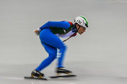 February 17, 2018 - Pyeongchang, Gangwon, South Korea - Martina Valcepina of  Italy competing in 1500 meter speed skating for women at Gangneung Ice Arena, Gangneung, South Korea on 17 February 2018. (Credit Image: © Ulrik Pedersen/NurPhoto via ZUMA Press)