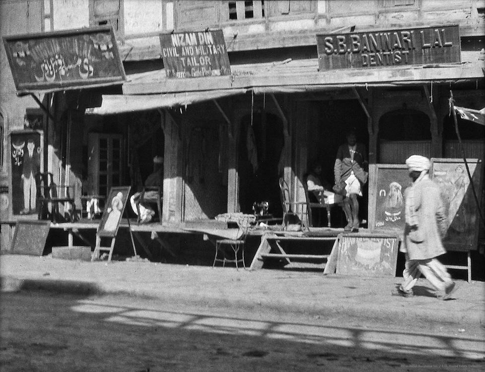 Dentist Establishment, Peshawar, India, 1929