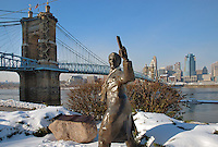 Roebling Suspension Bridge Cincinnati Ohio
