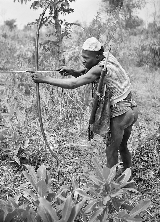 Pagan Hunter, Nigeria, Africa, 1937