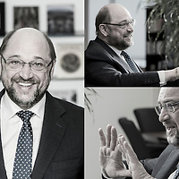 Brussels, Belgium 26 January 2015<br /> Martin Schulz, President of the European Parliament.<br /> Photo: Ezequiel Scagnetti