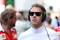 Monaco - Formula 1 - Gran Premio di Monaco di Formula 1 - Nella foto: Sebastian Vettel - Ferrari