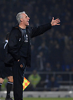 Photo: Ashley Pickering.<br /> Ipswich Town v Wolverhampton Wanderers. Coca Cola Championship. 20/02/2007.<br /> Wolves manager Mick McCarthy