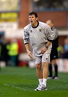 Photo: Jed Wee.<br />Burnley v Hull. Coca Cola Championship. 14/10/2006.<br /><br />Burnley manager Steve Cotterill.