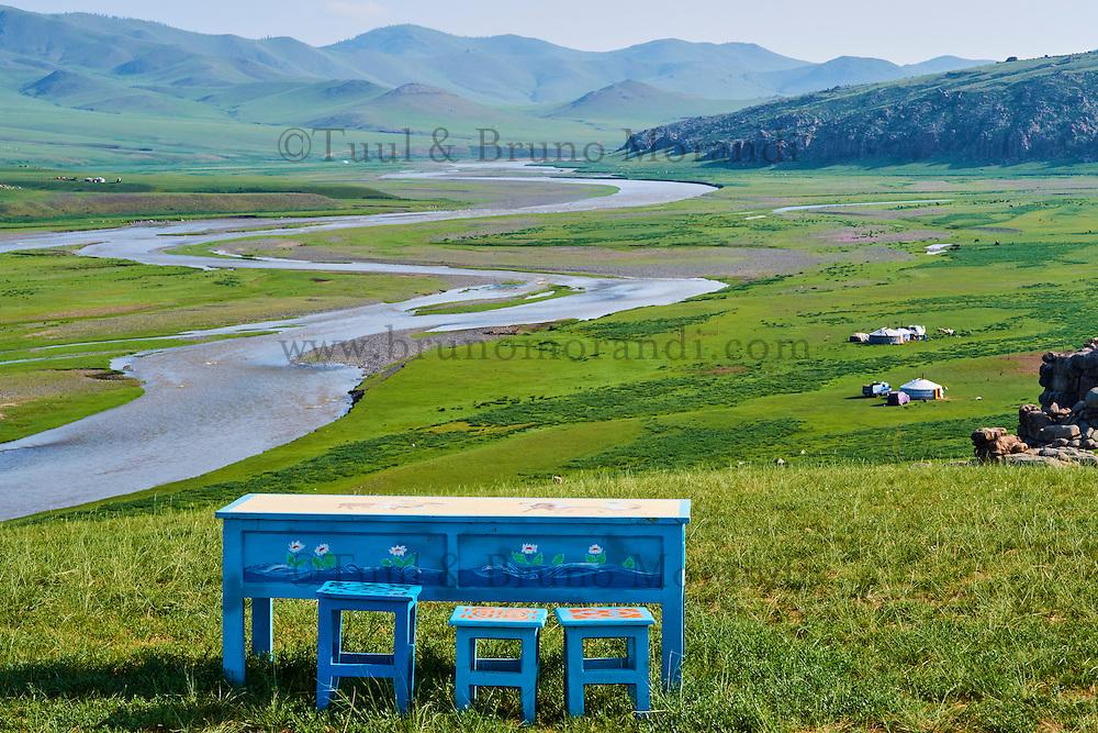 Mongolie, Province de Ovorkhangai, Vallee de l'Orkhon, patrimoine mondial de l'UNESCO // Mongolia, Ovorkhangai province, Orkhon valley, UNESCO world heritage