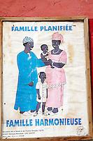 Senegal, Saint Louis du senegal, Patrimoine mondial de l UNESCO. Planing familliale. // Senegal, city of Saint Louis, Unesco World Heritage. Family planing.