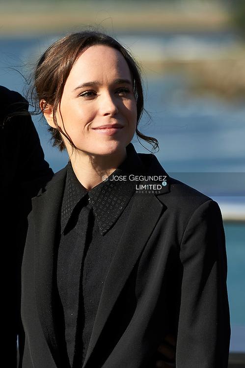 Ellen Page pose for 'Freeheld' photocall during 63rd San Sebastian International Film Festival at the Aquarium on September 24 in San Sebastian
