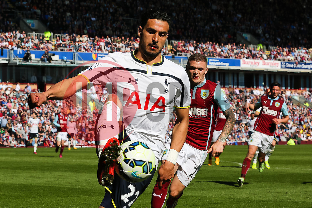 Tottenham Hotspur's Nacer Chadli in action - Photo mandatory by-line: Matt McNulty/JMP - Mobile: 07966 386802 - 05/04/2015 - SPORT - Football - Burnley - Turf Moor - Burnley v Tottenham Hotspur - Barclays Premier League